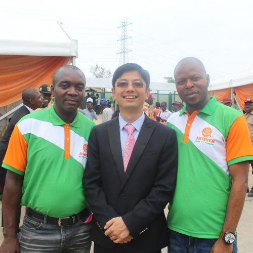 Mr Chinedu, Mr Lee and Mr Christian