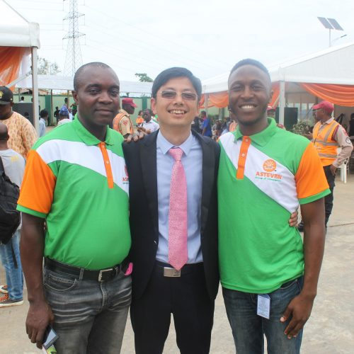 Mr Chinedu, Mr Lee and Mr Kola
